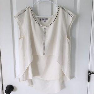 White Jennifer Lopez blouse